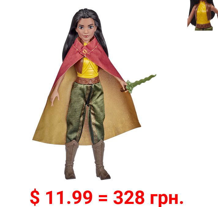 Disney Raya and the Last Dragon Fashion Doll, Movie Inspired Outfit, Ages 3+