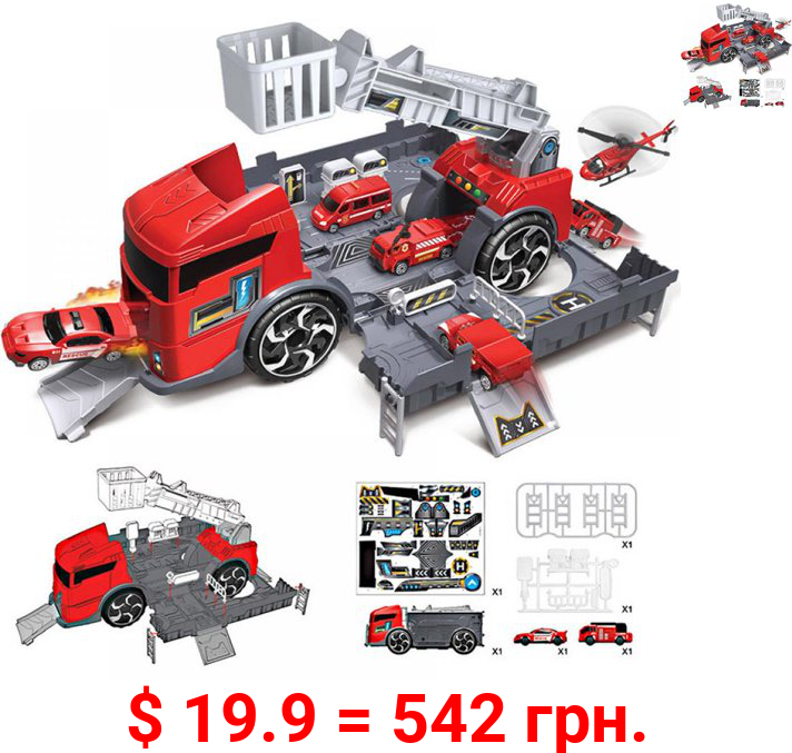 Promotion Clearance! Car Model Deformation Car Combination Series Children's Toys