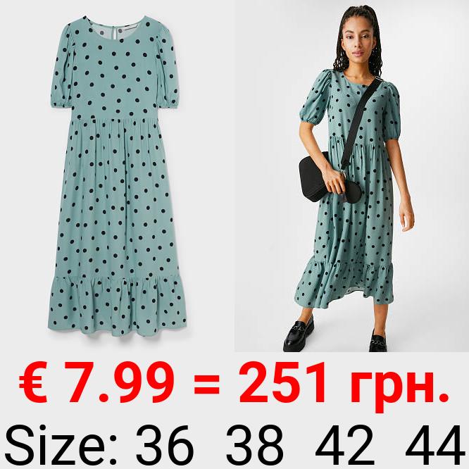 CLOCKHOUSE - Kleid - gepunktet