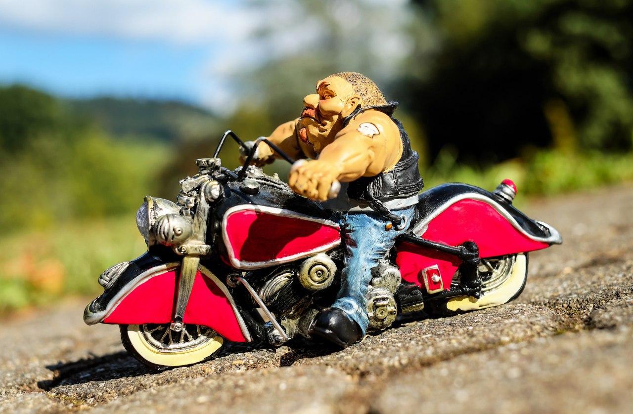 Открытка с днем мотоциклиста, выпускной