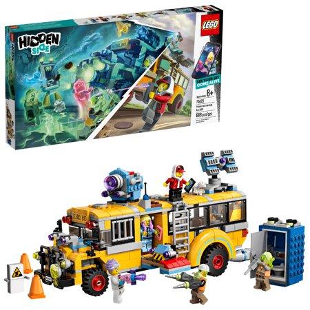 LEGO Hidden Side Paranormal Intercept Bus 3000 70423 AR Building Kit