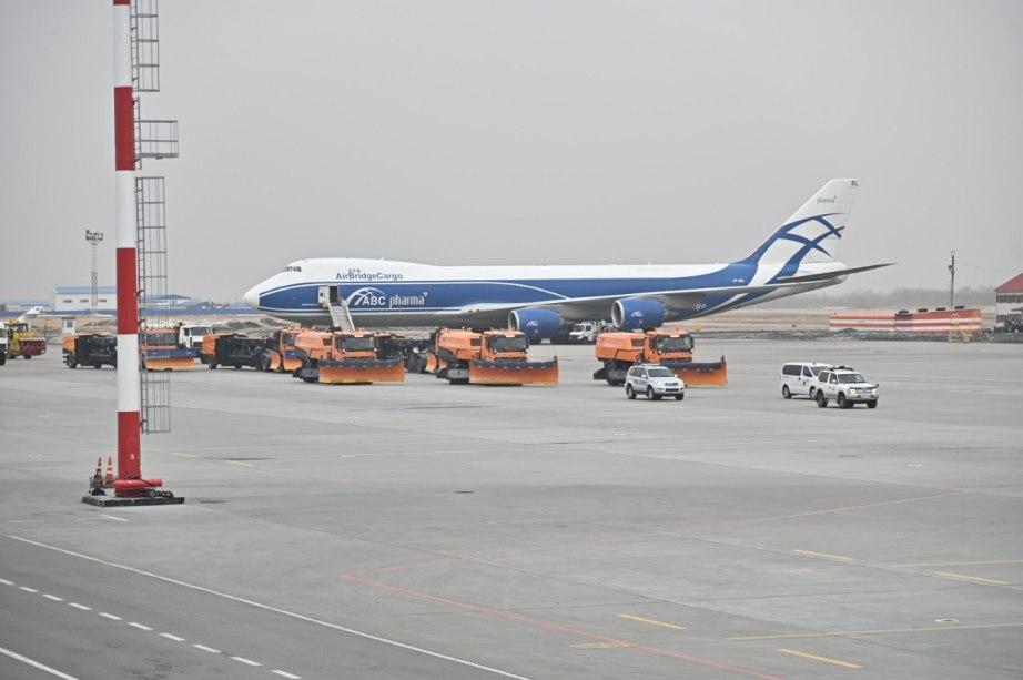 В международном аэропорту Хабаровска завершена реконструкция аэродромного комплекса
