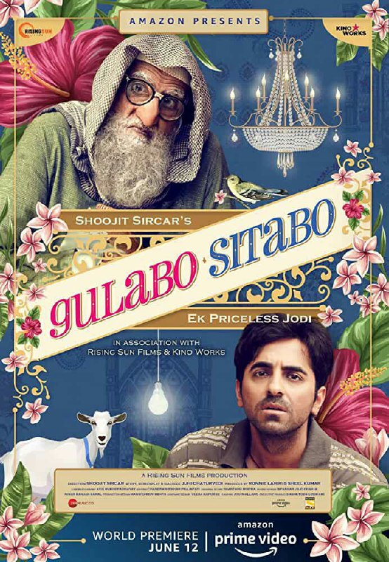 Free Download Gulabo Sitabo Full Movie