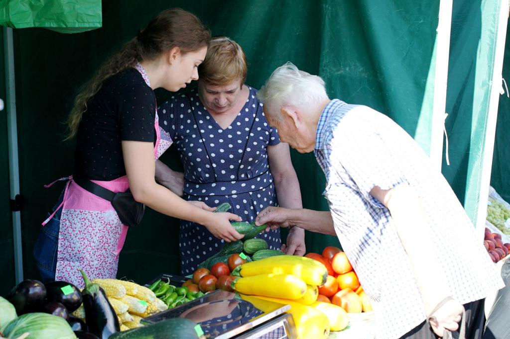 Новая точка реализации сельхозпродукции открылась в центре Хабаровска