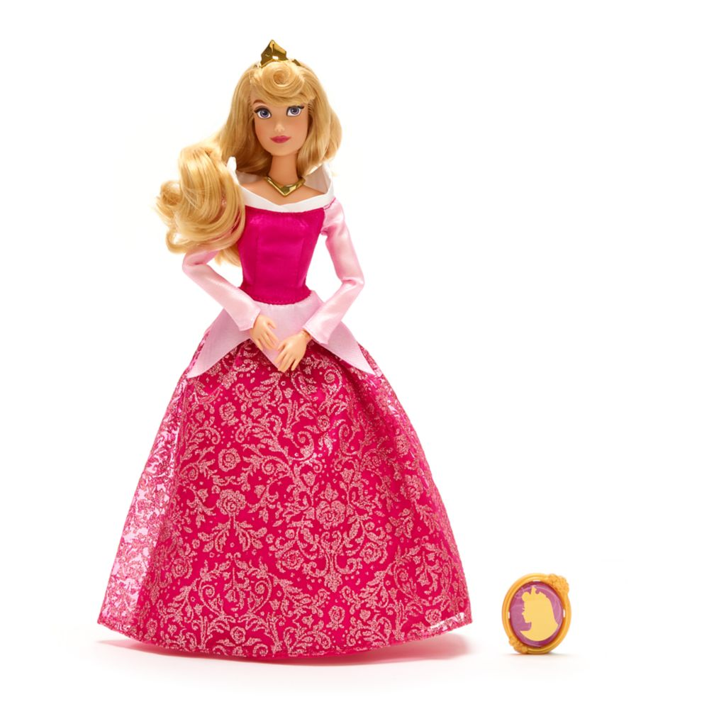 Aurora Classic Doll with Pendant – 11 1/2''