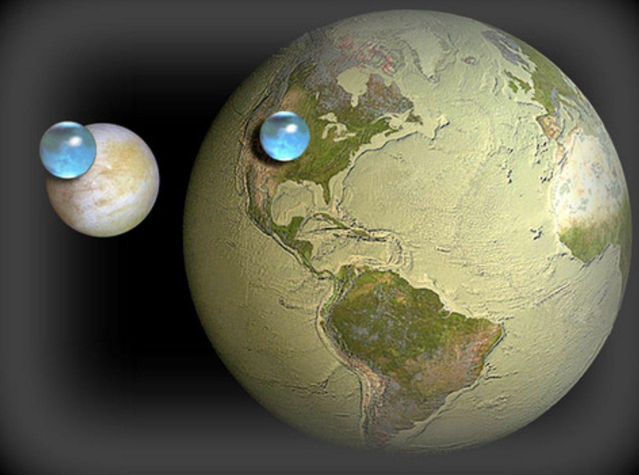 сколько процентов поверхности занимает океан