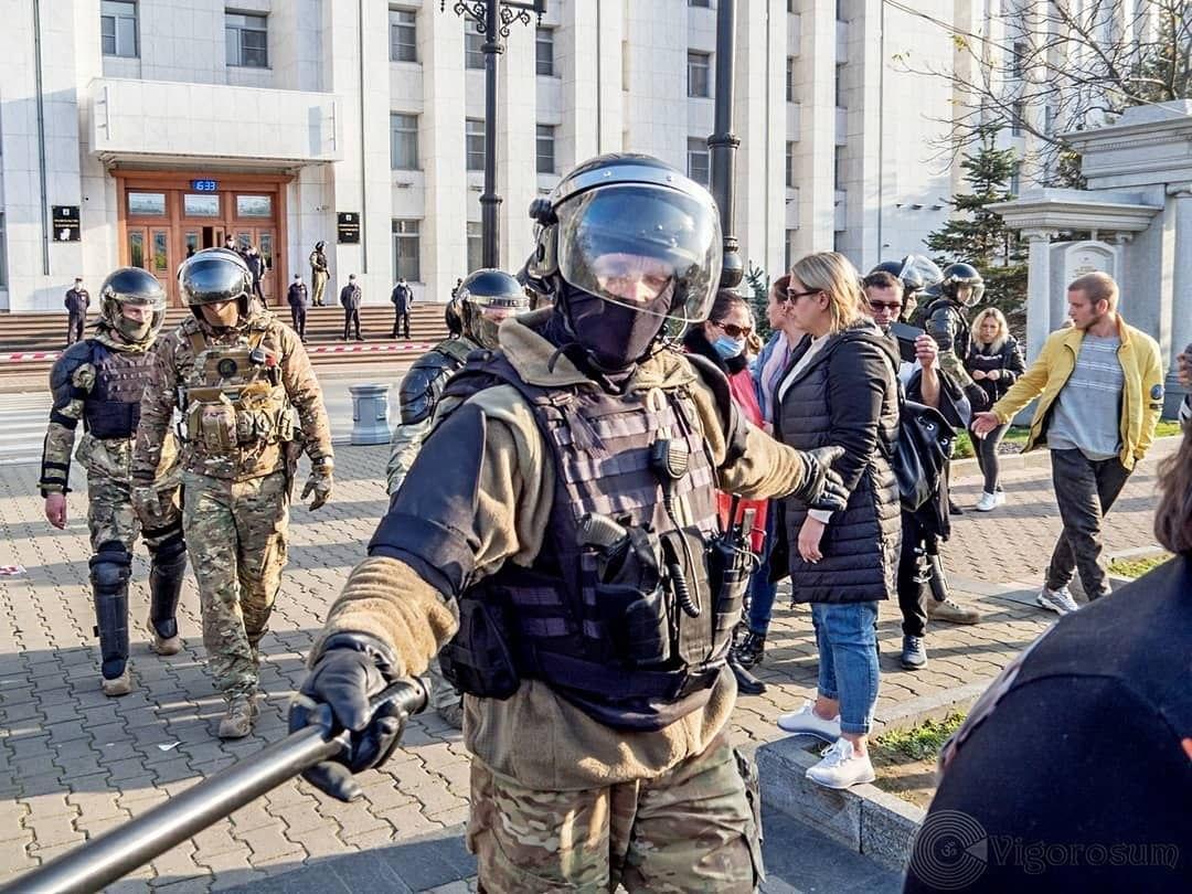 В Хабаровске согласовали митинг на 1,5 тысячи человек