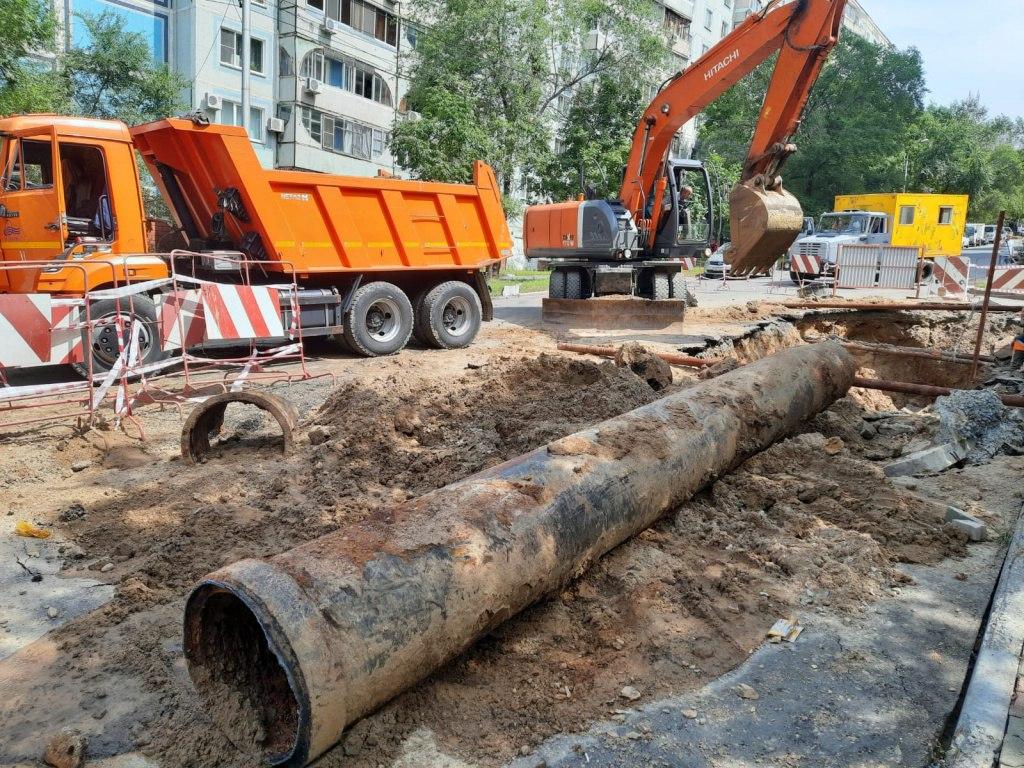 Аварийная ситуация на Фрунзе в Хабаровске