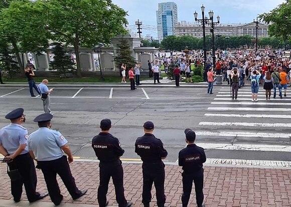 Мэрия Хабаровска: митинг в защиту Фургала 12 сентября пока не согласован