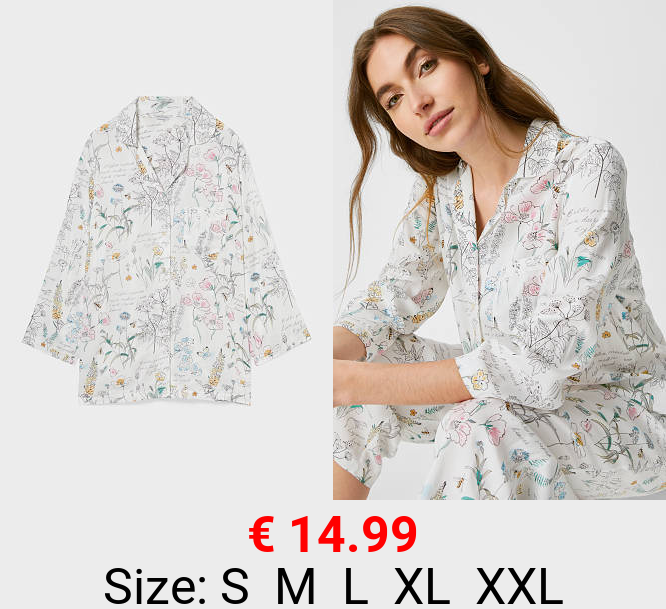 Pyjama-Oberteil